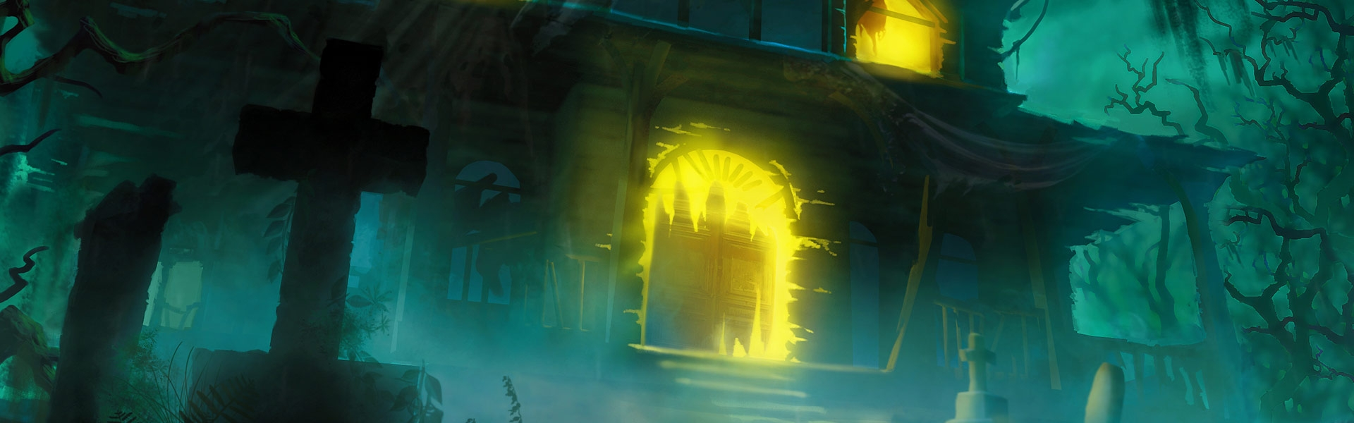 Image result for betrayal house on the hill game art