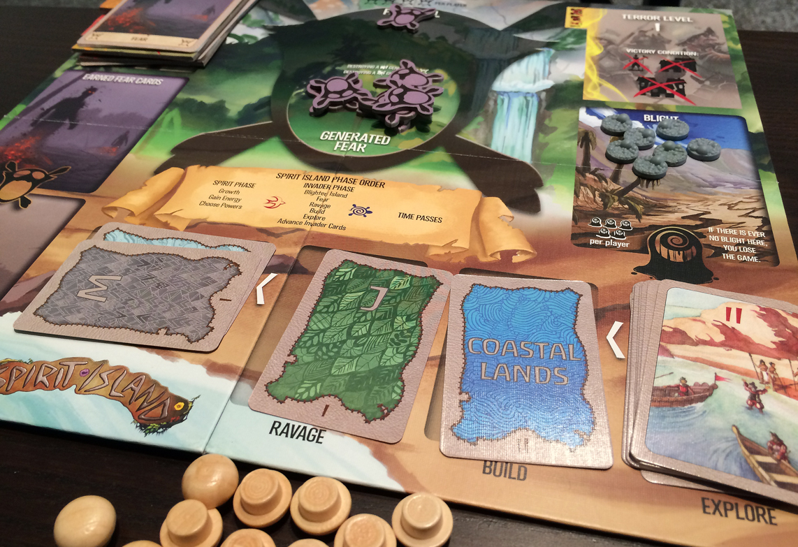 Image result for spirit island board game board