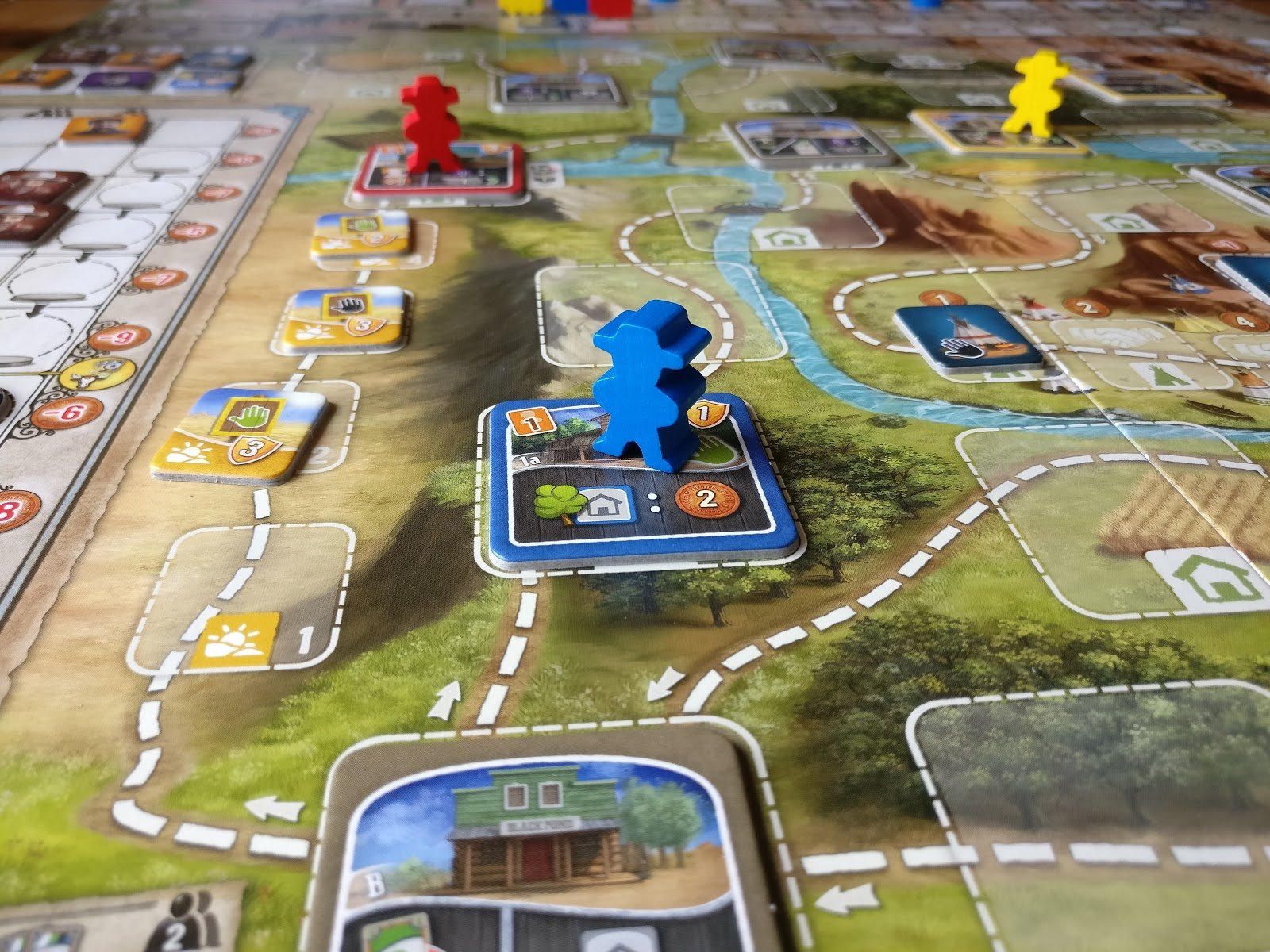 Image result for great western trail game meeples