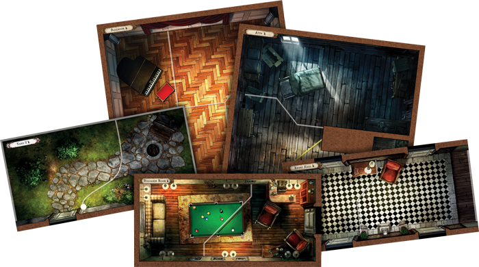 Image result for mansions of madness 2nd edition tiles