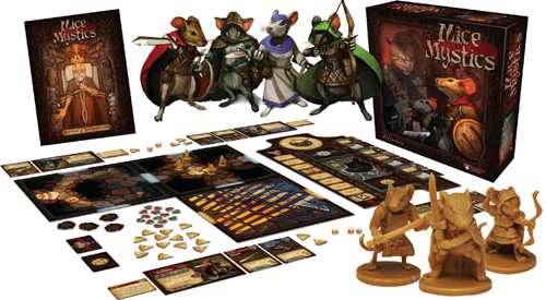 Image result for mice & mystics gameplay