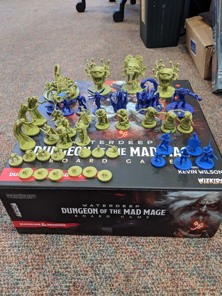 D&D Waterdeep: Dungeon of the Mad Mage Boardgame