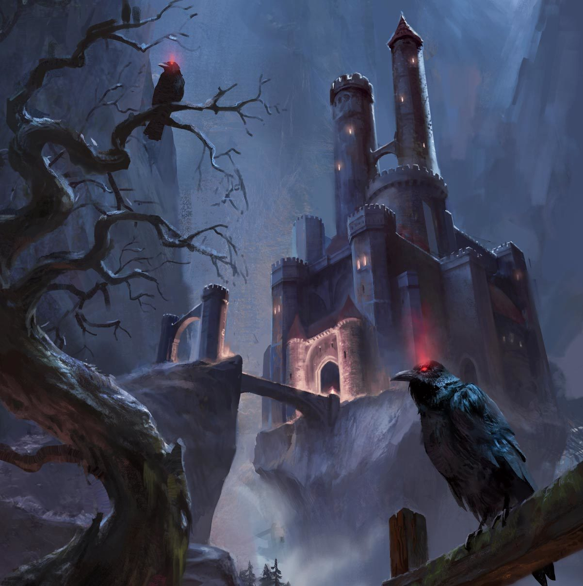 Image result for D&D 5.0 Curse of Strahd art