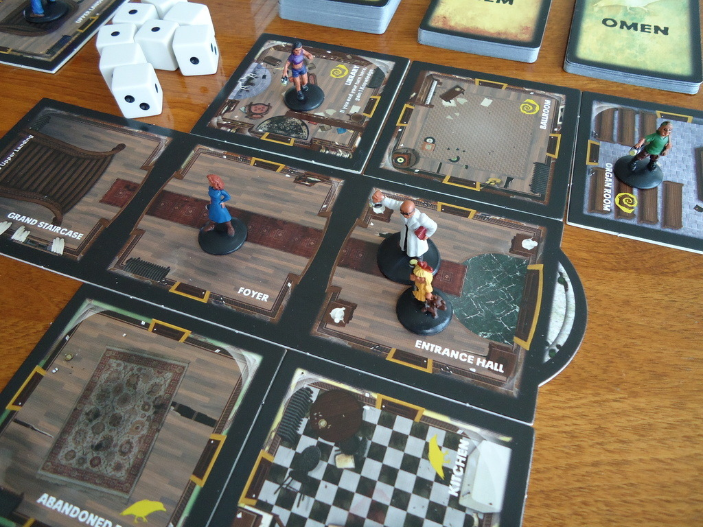 Image result for betrayal house on the hill game