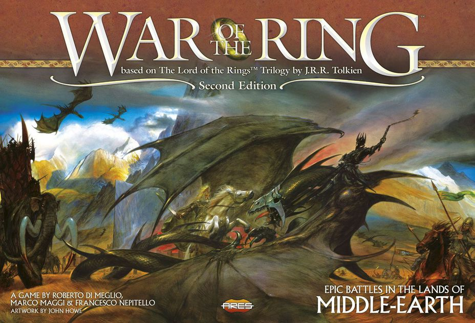 Image result for lord of the rings war of the ring 2nd edition