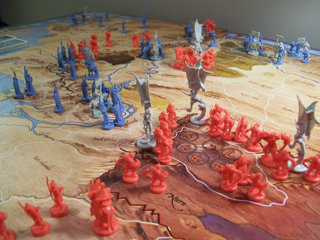 Image result for lord of the rings war of the ring board game