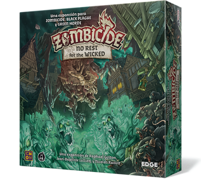 Image result for zombicide: no rest for the wicked