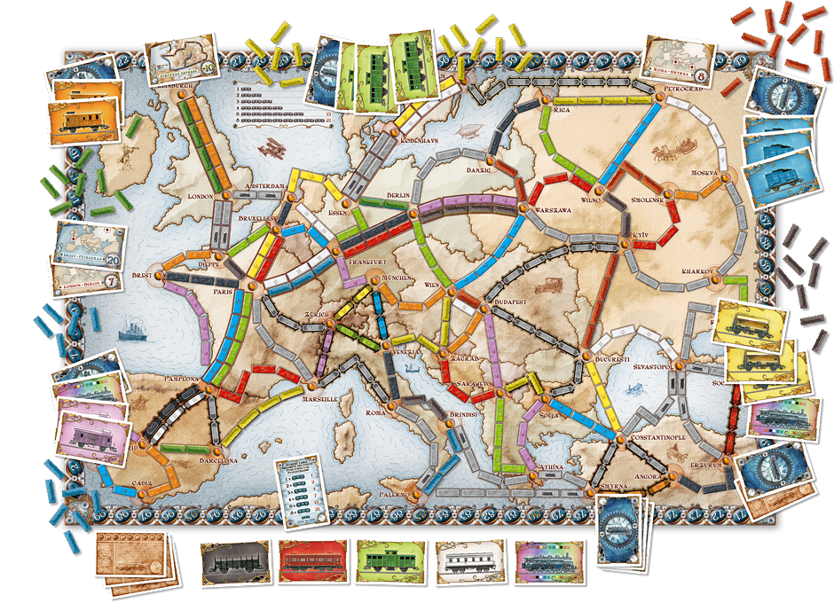 Ticket to Ride: Europa (NL)