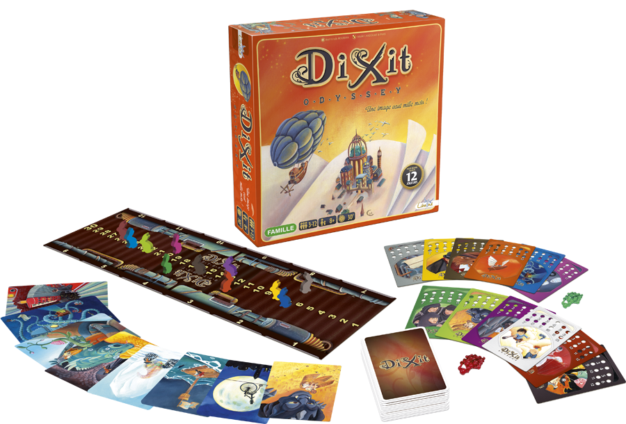 Image result for dixit odyssey png
