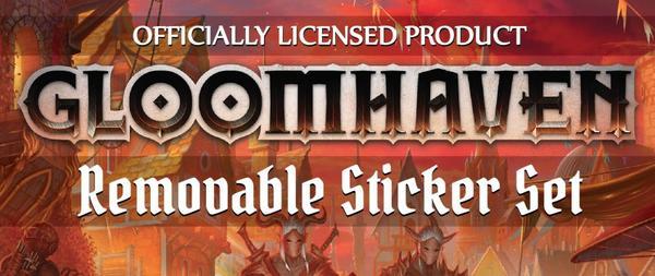 Image result for gloomhaven removable sticker set