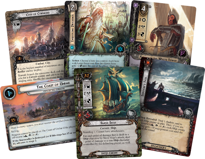 Image result for The Lord of the Rings: The Card Game – The City of Corsairs