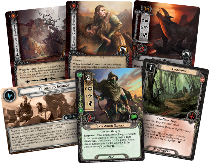Image result for The Lord of the Rings: The Card Game – The Crossings of Poros