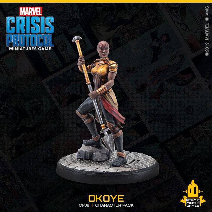 """Image result for Marvel Crisis Protocol: Okoye and Shuri"""""""