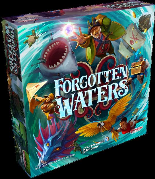 Forgotten Waters | Board Game | BoardGameGeek