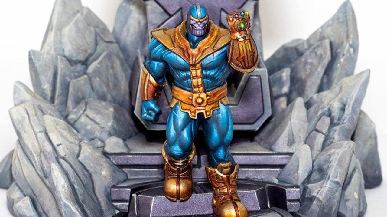 Marvel: Crisis Protocol Game Reveals Thanos