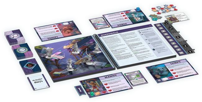 Stuffed Fables: Oh, Brother! Expansion   Z-MAN Games