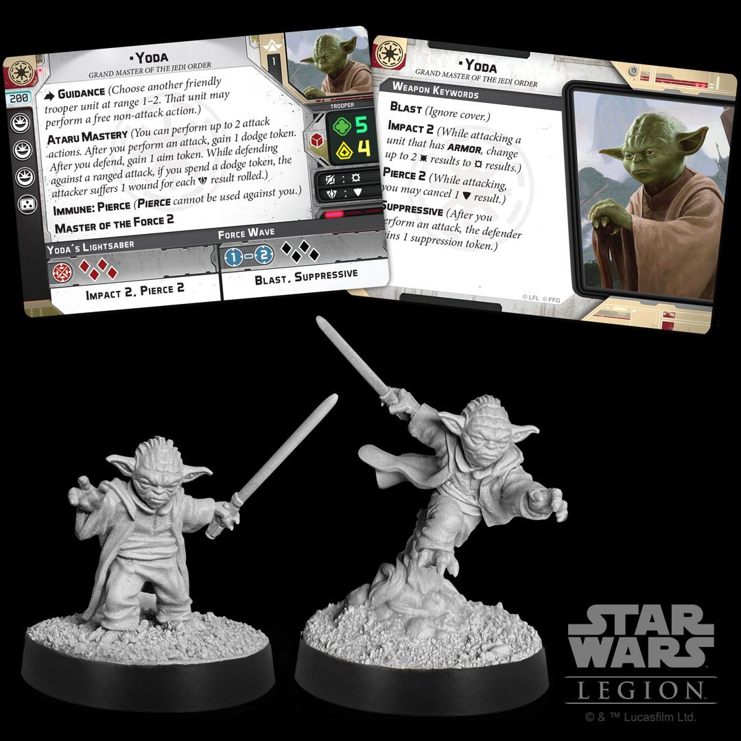 Star Wars: Legion - Yoda Is Coming To The Tabletop - Bell of Lost Souls